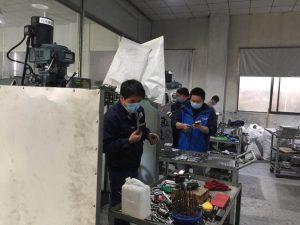 保障口罩机零配件供应,零件加工企业做好防控有序复工 第3张