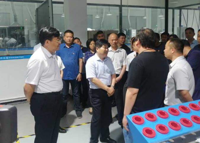 河南富东懿迎来长葛市委书记尹俊营带领的观摩组 第5张