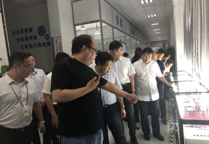 河南富东懿迎来长葛市委书记尹俊营带领的观摩组 第7张