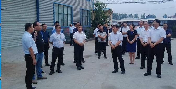 河南富东懿迎来长葛市委书记尹俊营带领的观摩组 第1张